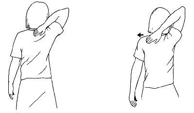 Snížení všeobecného napětí ramen